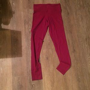 Magenta RBX High waist leggings